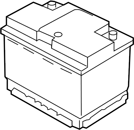 Volkswagen Battery. Vehicle Battery. CCA